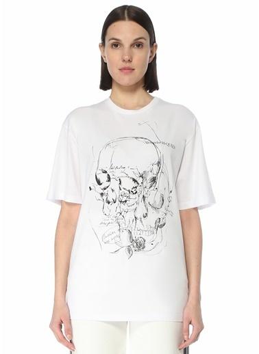 Alexander McQueen Polo Yaka T-shirt Beyaz
